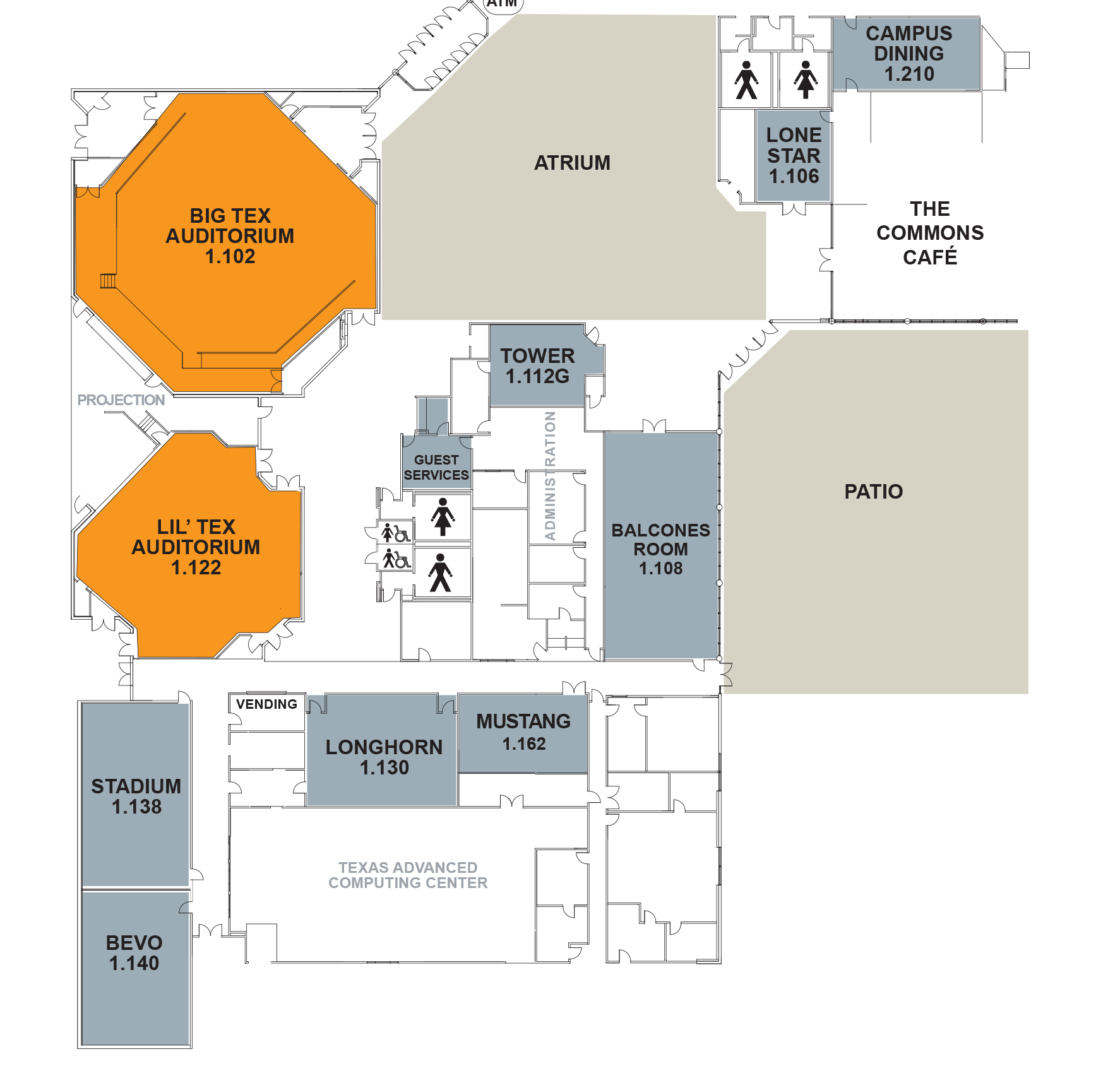 Commons Building Layout