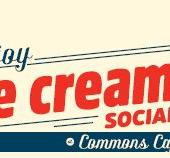 Ice Cream social at Commons Cafe