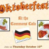 Oktoberfest at Commons Cafe